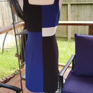 Jessica Howard color block dress